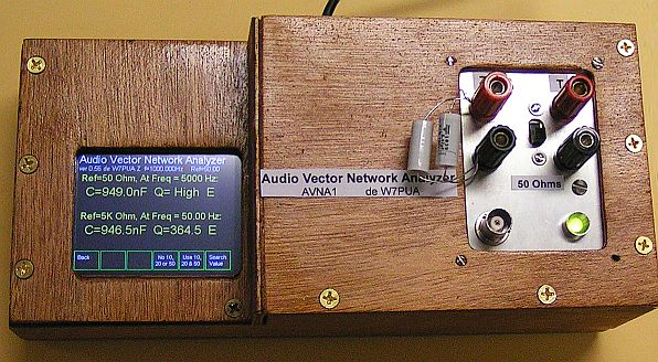 Building and Using the AVNA1 Audio Vector Network Analyzer