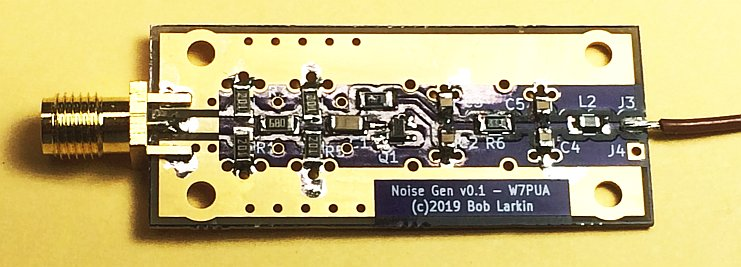 A Noise Generator for Testing HF through Low Microwave Receivers